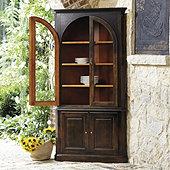 Casa Florentina Gabriele Corner China Cabinet - Custom