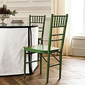 Ballroom Folding Chairs Set of 2 - Green