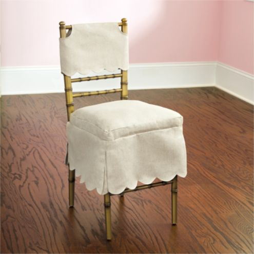 Bunny Williams Ballroom Folding Chair Short Slipcover