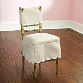 Bunny Williams Ballroom Folding Chair Short Slipcover