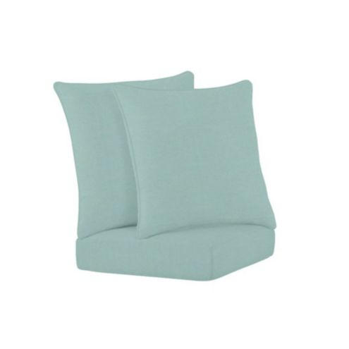 Banquette Corner Bench Seat Cushion/2 Pillows Set
