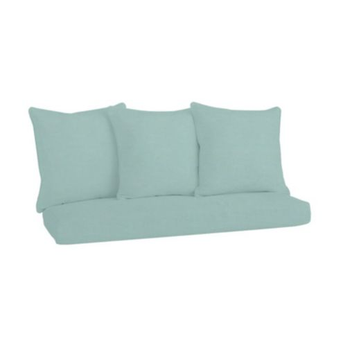 Banquette Bench Seat Cushion 48 inch/3 Pillows Set