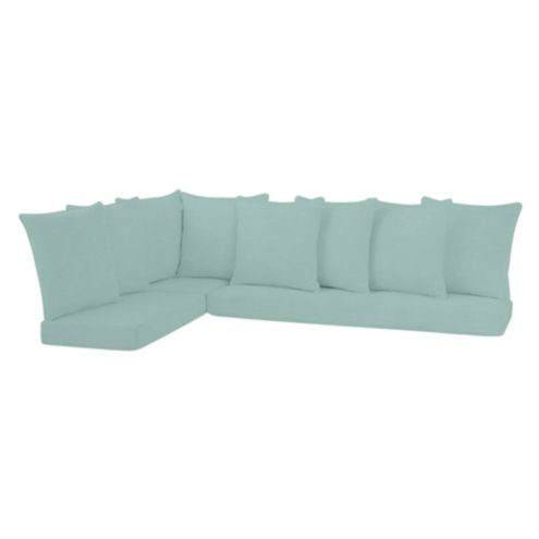 Banquette Bench Cushion / Pillows 3 Piece Set