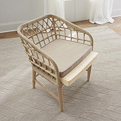 Andorra Rattan Dining Chair Cushion