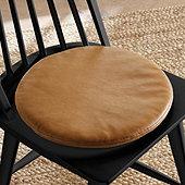 Leather Round Seat Cushion