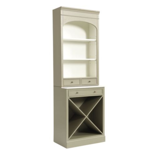 Paulette Server with Wine Rack
