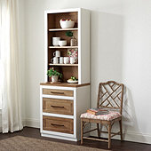 Ashton Server Hutch with 3 Storage Drawers