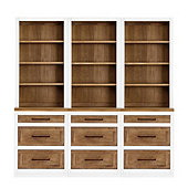 Ashton Servers - Set of 3 Servers with 3 Drawer Consoles