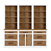 Ashton Servers - Set of 3 Servers with Two 3 Drawer Consoles & One 2 Door Console