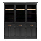 Trieste Servers - Set of 3 with 2 Door Consoles
