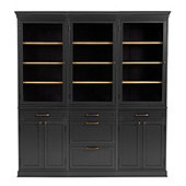 Trieste Servers - Set of 3 with Two 2 Door Consoles & One 3 Drawer Console