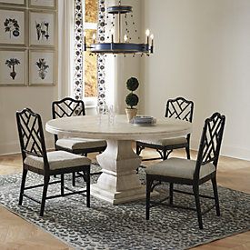 Casa Florentina 60 Quot Benito Dining Table Custom Ballard