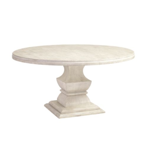 Andrews Pedestal Dining Table - 60