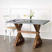 Tatum Trestle Dining Table