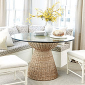 Tangiers Woven Dining Table