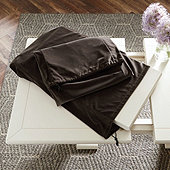 Signature Velvet Table Leaf Storage Bag - 18