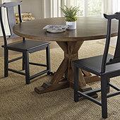 Suzanne Kasler Palisades Round Pedestal Dining Table