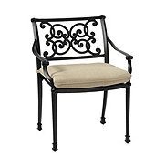 Amalfi Dining Armchair with Cushion
