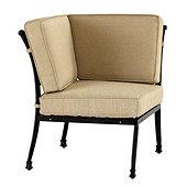 Amalfi Corner Chair with Cushions