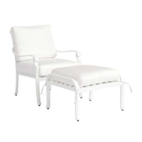 Maison Outdoor Lounge Chair & Ottoman