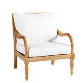 Ceylon Teak Lounge Chair with Cushions