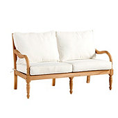 Ceylon Teak Loveseat with Cushions