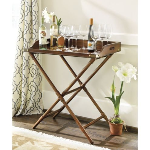 Merveilleux Butlers Tray Table