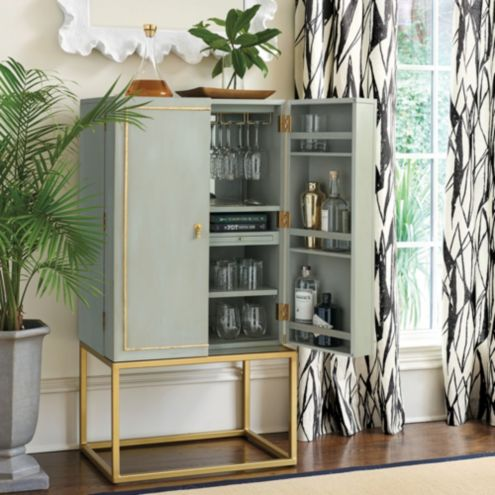 Cool Astrid Bar Cabinet Cane Weave Ballard Designs Pdpeps Interior Chair Design Pdpepsorg