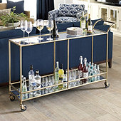 Sterling Large Bar Cart