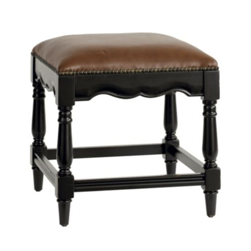 Marlow Nailhead Chair Height Stool Ballard Designs