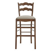 Casa Florentina Genoa Barstool with Linen Seat - Custom
