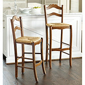 Lemans Stools - Hickory Brown