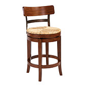 Marguerite Counter Stool - Distressed Chestnut