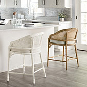 Anna Cane Back Counter Stool