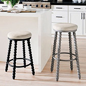 Livia Spool Stool - Select Color