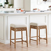 Carly Rattan Stools