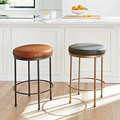 Cornelia Leather Counter Stool
