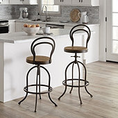 Baxter Swivel Stool