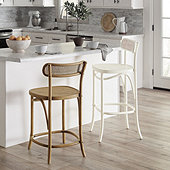 Thea Bentwood Barstool - Select Finish