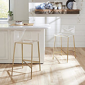 Tasha Acrylic Counter Stool