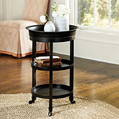 Addison Tray Table - Antique Pewter