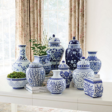 Blue & White Chinoiserie Collection
