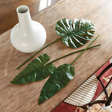 Tropical Leaves — Set of 3