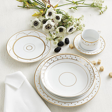 Bunny Williams Gold Star Dinnerware