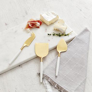 Sylvan 3-Piece Cheese Knife Set