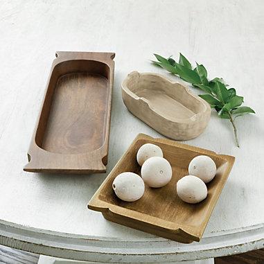 Sundi Wood Serving Bowls