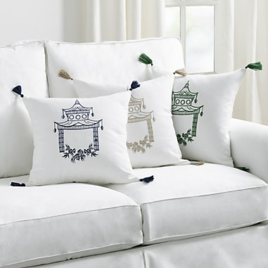 Embroidered Paa Pillow