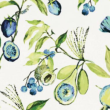 Alana Blue Fabric By The Yard