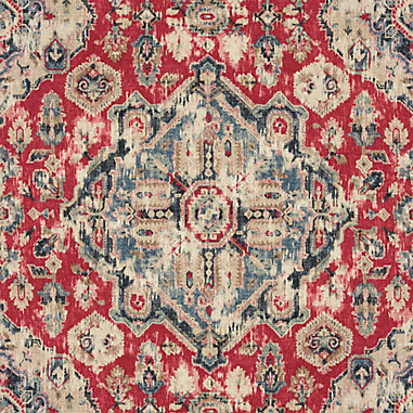 Marlton Red Fabric By The Yard