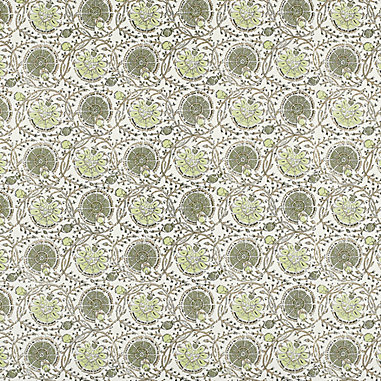Rochelle Green Fabric By The Yard